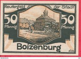 Allemagne 1 Notgeld 50 Pfenning  Stadt Boizenburg (RARE) UNC Lot N° 3161 - [ 3] 1918-1933 : République De Weimar