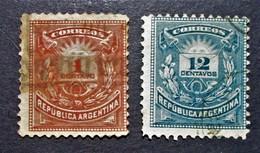 B2932 - Argentina - 1884-85 - Sc. 53-54 - Argentinien