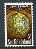 Norfolk Island 1969 Christmas MNH (SG 102) - Norfolk Island