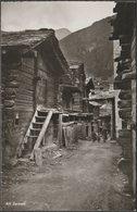 Alt Zermatt, Valais, C.1940s - Photoglob-Wehrli Foto-AK - VS Valais