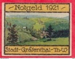 Allemagne 1 Notgel De 10 Pfenning Stadt Grafenthal (RARE) Dans L 'état  N °3162 - [ 3] 1918-1933 : République De Weimar