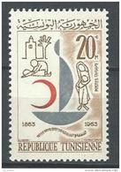 "Tunisie YT 575 "" La Croix-Rouge "" 1963 Neuf** - Tunisie (1956-...)"
