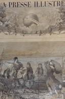 LA PRESSE ILLUSTREE 387 - 28 AOUT 1875. BALKANS HERZEGOVINE, DE SANTANDER A SAN SEBASTIEN. SULTAN CONSTANTINOPLE TURQUIE - Journaux - Quotidiens
