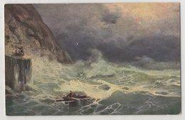 5414 Painter Aivazovsky (Ayvazian) Storm At The Caucasian Coast - Pittura & Quadri
