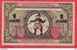 Allemagne 1 Notgeld 1 Mark  Bielefeld (RARE) UNC Lot N °3164 - [ 3] 1918-1933 : République De Weimar