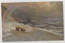 5416 Painter  Aivazovsky (Ayvazian) Storm And Rainbow - Pittura & Quadri