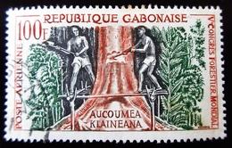 République Du Gabon Yt PA 2 . AUCOUMEA KLAINEANA - Gabon (1960-...)