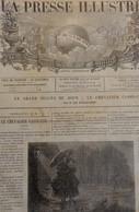 LA PRESSE ILLUSTREE 432 - 8 JUILLET 1876. BALKANS PENDAISON CONSTANTINOPLE TURQUIE. MORAT SUISSE. MILAN DE SERBIE - Journaux - Quotidiens