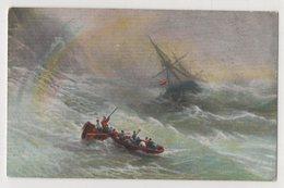 5419 Painter  Aivazovsky (Ayvazian) Storm And Rainbow - Pittura & Quadri