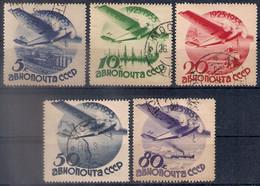 Russia 1934, Michel Nr 462Z-66Z, Used - 1923-1991 USSR