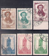 Russia 1937, Michel Nr 549A-54A, Used - 1923-1991 USSR
