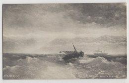 5422 Painter  Aivazovsky (Ayvazian) Caucasian Range From The Sea - Pittura & Quadri