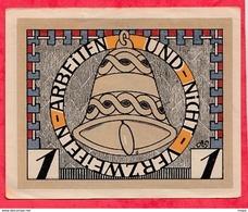 Allemagne 1 Notgeld  1 Mark  Augustenburg  état   Lot N °3170 - [ 3] 1918-1933 : République De Weimar