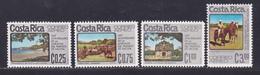 COSTA RICA AERIENS N°  627 à 630 ** MNH Neufs Sans Charnière, TB (D8246) Anniversaire Annexion De Nicoya -1975 - Costa Rica