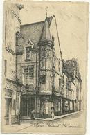 75 CPA Paris Gravure Eau Forte Hotel Herouet Robin Graveur - France