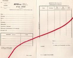 """Document- """" Avis De ...d'un Juif """"- - Documents"""