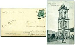 CARTOLINA - V8603 COLONIE ITALIANE TRIPOLITANIA 1911 Cartolina Illustrata (Tripoli Orologio Del Pascià) Affrancata - Libya