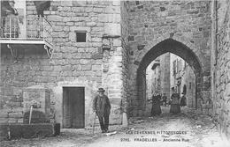 43 - Haute Loire - Pradelles - Ancienne Rue - Cpa Animée - Voir Scans - France
