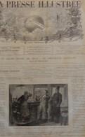 LA PRESSE ILLUSTREE 446 - 14 OCTOBRE 1876. BALKANS HYDE PARK LONDON BULGARIE BULGARIA. CIRCASSIENS CIRCASSIE CIRCASSIA - Journaux - Quotidiens