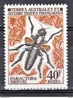 TAAF    41  Insecte 25% De Cote   Neuf ** MNH Sin Charmela Cote 12 - Nuevos