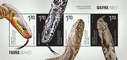 BHRS 2018-10 SNAKE, BOSNA AND HERZEGOVINA REPUBLIKA SRBSKA, S/S, MNH - Serpents