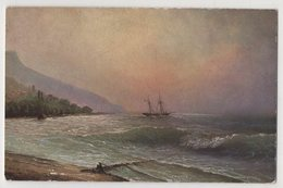 5428 Painter Aivazovsky (Ayvazian) Off The Coast Of Alushta Crimea - Pittura & Quadri
