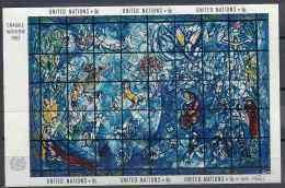 1967 NATIONS UNIES BF 4** Vitrail De Chagall - Blocs-feuillets