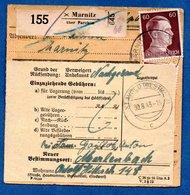 Colis Postal  - Départ Marnitz - Pour St Avold  -- 30/8/1943 - Alemania