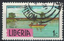 Liberia 1982 Oblitéré Used Mano River Bridge Pont - Liberia