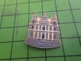 511A Pin's Pins / Beau Et Rare : Thème VILLES / ST PAUL'S LONDON CATHEDRALE ST PAUL LONDRES - Cities