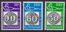 Surinam MNH Set - Stamps On Stamps