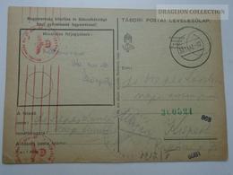 ZA165.30  Hungary  WWII  - Feldpost - German Censure - Tábori Postai Levelezőlap  1942  -Dr. Szepes László  Kispest - Covers & Documents