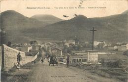 43 - Haute Loire - Retournac - Vue Prise De La Croix De Mission - Route De Craponne - Cpa Animée - Voir Scans - Retournac