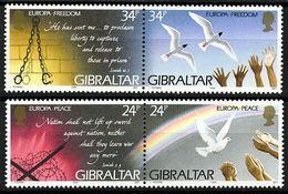 EUROPA-CEPT 1995 - Gibraltar - 4 Val Neufs // Mnh - Europa-CEPT