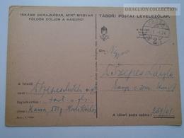 ZA167.1  Hungary  WWII  - Dr. Szepes László  - KASSA 551 Hadikórház  -  TP  257-01  Tábori Postai Levelezőlap  -  1943 - Covers & Documents