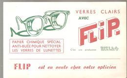 Buvard FLIP. Papeir Chimique Spécial Anti-buée Pour Nettoyer Les Verres De Lunettes - Chemist's