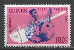 Guinea 1962. Scott #C32 (U) Musical Instrument, Kora * - Guinée (1958-...)