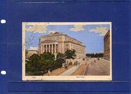 ##(ROYBOX1)- Postcards - Latvia -  Riga,  Stadt-Theater - Used 1910 - Lettonia
