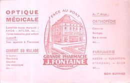 Buvard OPTIQUE MEDICALE GRANDE PHARMACIE J. FONTAINE à Compiègne - Chemist's