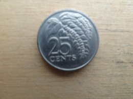 Trinite & Tobago  25  Cents  1975  Km 32 - Trinité & Tobago