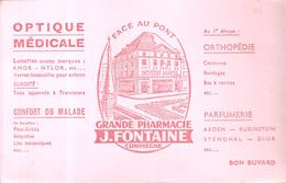 Buvard OPTIQUE MEDICALE GRANDE PHARMACIE J.FONTAINE à Compiègne - Chemist's