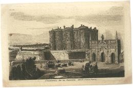 75 CPA Paris Gravure Eau Forte Chateau De La Bastille 1640 Vieux Paris PL IX UP Graveur - France