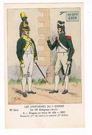 Uniforme.Empire. Le 19éme Dragons.   Illustrateur. J.ROUFFET  ( T.u.190) - Uniformen