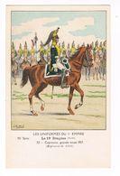 Uniforme.Empire. Le 19éme Dragons.   Illustrateur. J.ROUFFET  ( T.u.192) - Uniformen