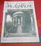 La Vie à La Campagne N°18 Juin 1907 Exposition Canine,Etalon Demi Sang Français,Diabolo,Roseraie De L'Haÿ - Livres, BD, Revues