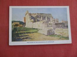 Ruins Of The Synagogue At Capernaum   Ref 3135 - Israel