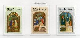 Malta - 1983 - Natale - 3 Valori - Nuovi - Vedi Foto - (FDC13877) - Malte