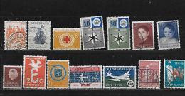 PAYS BAS 671/672/676/678/679/683/684/691/701/710/711/712/715 Oblitérés Rond - Period 1949-1980 (Juliana)