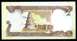 IRAK. 2 Billets De 1/2 Dinar. - Iraq
