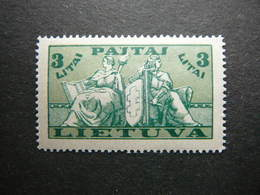 Lietuva Litauen Lituanie Litouwen Lithuania # 1934 MH # Mi. 401 - Lituanie